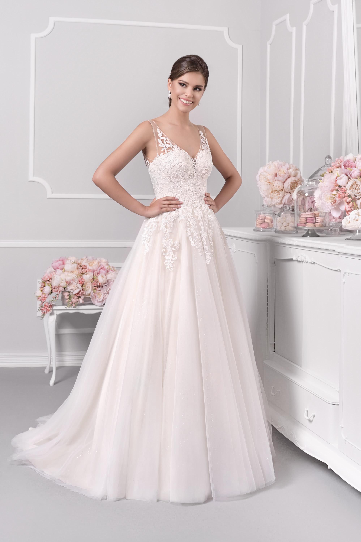 Hochzeits: Hochzeitskleid Herz Ausschnitt Spitze