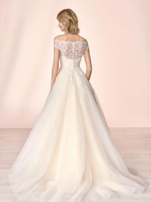 Brautkleid Mode De Pol Elizabeth Pailletten Glitzertüll Herzausschnitt Organza Prinzessin A Linie Carmen E 4104t 02