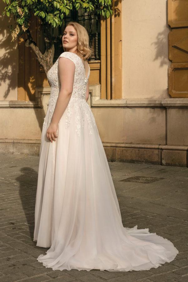 Brautkleid Mode De Pol Lovely A Linie Chiffon Tuell Herzausschnitt Curvy Mit20schlitz Blumendeko Lo 212t 02.jpg