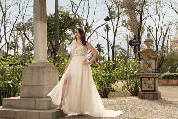 Brautkleid Mode De Pol Lovely A Linie Etui Empire Chiffon Tuell V Ausschnitt Curvy Mit20schlitz Pailletten Perlen Blumendeko Lo 210t 04.jpg