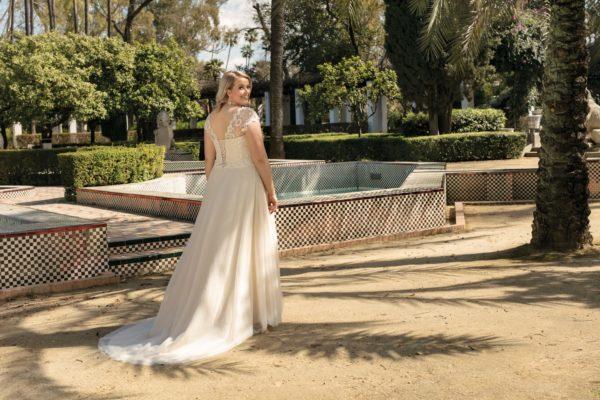 Brautkleid Mode De Pol Lovely A Linie Tuell Herzausschnitt Glitzertuell Schnuerung Curvy Schlicht Blumendeko Lo 223t 05.jpg