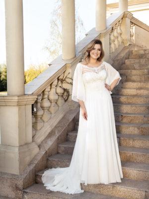 Brautkleid Mode De Pol Lovely Curvy Pailletten Herzausschnitt Chiffon A Linie Carmen Lo 142t 01 1.jpg