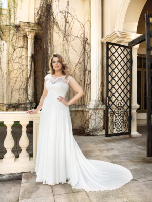Brautkleid Mode De Pol Lovely Curvy Schlicht Herzausschnitt Chiffon A Linie Carmen Lo 123t 01 1.jpg