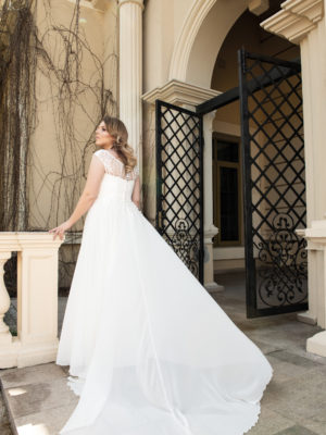 Brautkleid Mode De Pol Lovely Curvy Schlicht Herzausschnitt Chiffon A Linie Carmen Lo 123t 02 1.jpg