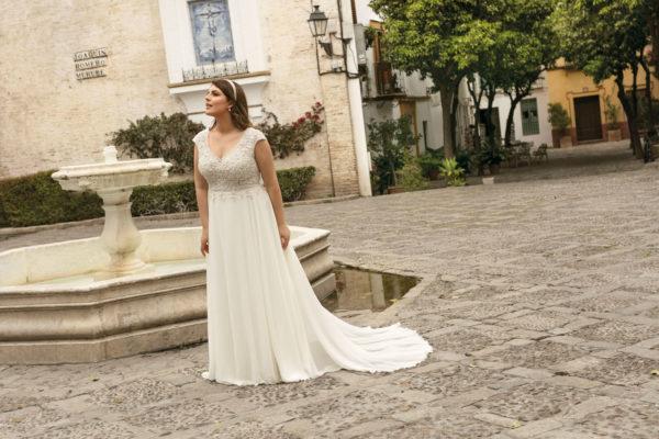 Brautkleid Mode De Pol Lovely Empire A Linie Chiffon Tuell Herzausschnitt Transparent Curvy 3d Optik Perlen Lo 233t 04.jpg