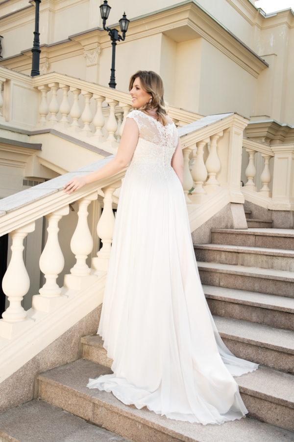 Brautkleid Mode De Pol Lovely Pailletten Curvy Herzausschnitt Chiffon A Linie Carmen Lo 117t 02 1.jpg
