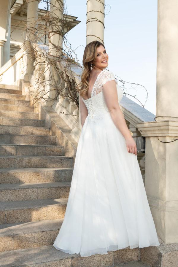 Brautkleid Mode De Pol Lovely Schnürung Curvy Herzausschnitt Chiffon A Linie Schulterträger Lo 129 02 1.jpg