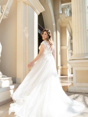 Brautkleid Mode De Pol Lovely Schnürung Curvy Perlen Pailletten 3d Optik Herzausschnitt Tüll A Linie Prinzessin Schulterträger Lo 166t 02 1.jpg