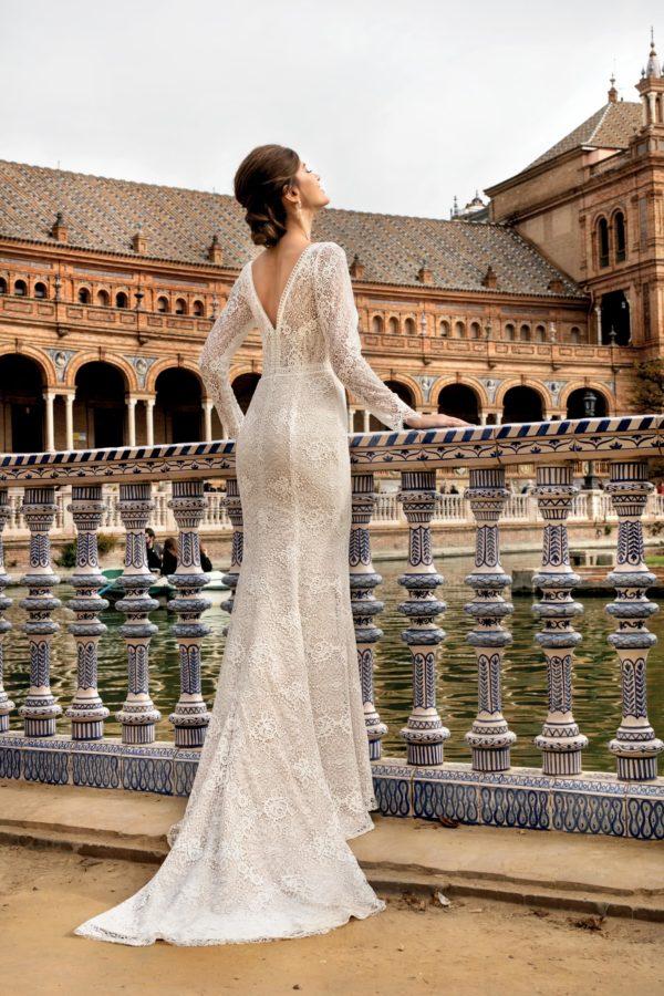 Brautkleid Mode De Pol Theone Meerjungfrau Spitze V Ausschnitt Transparent Allover Spitze To 1150t 02 1.jpg