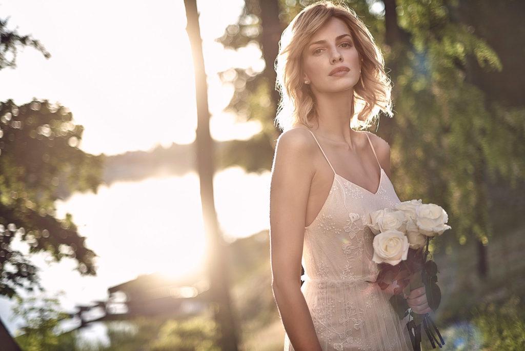 Brautkleid Mode De Pol Elizabeth Vintage Boho Spitze Tüll
