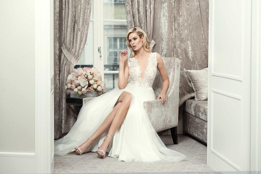 Brautkleid Mode De Pol Theone Rock Tüll Schlitz