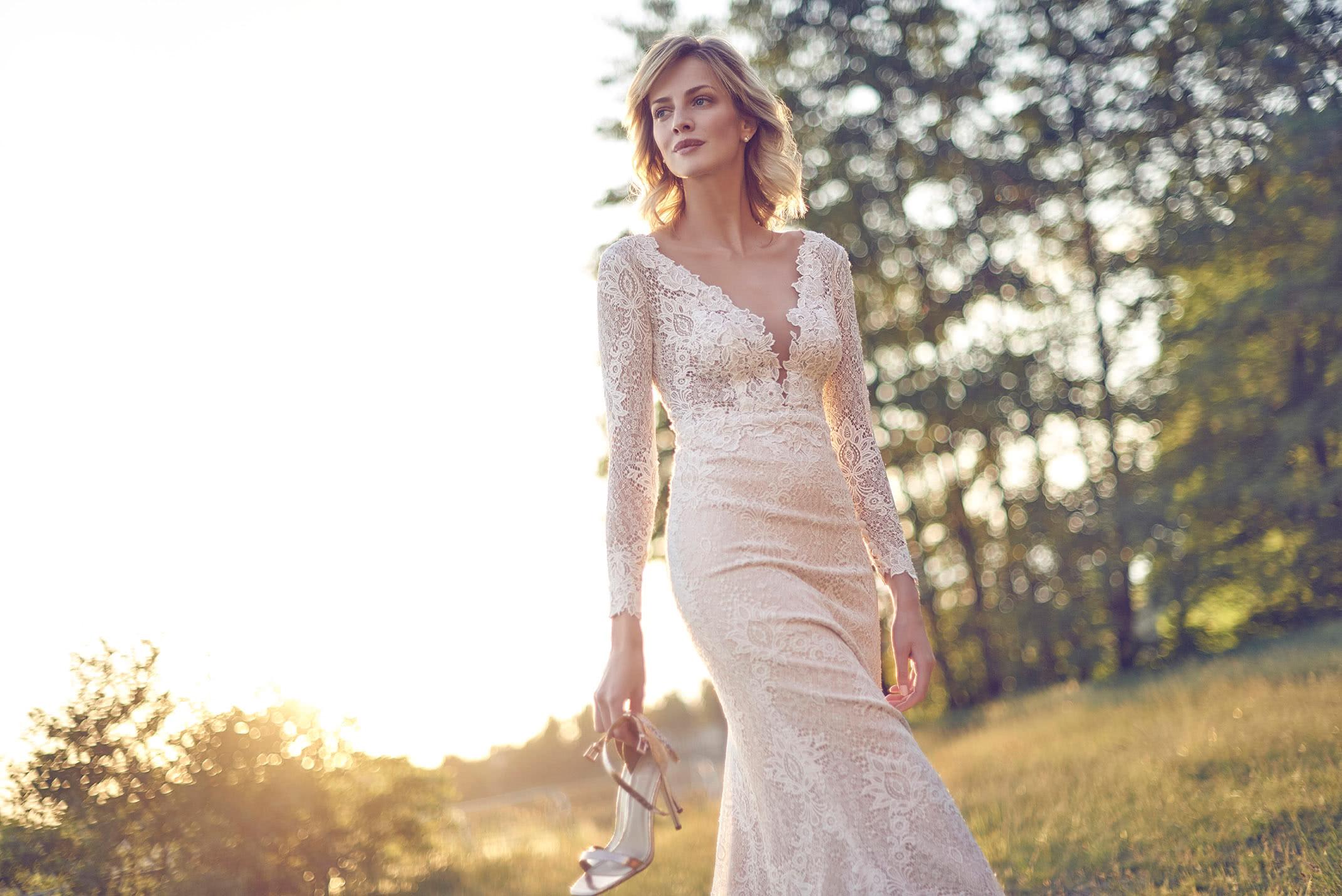Brautkleid Spitze Mode De Pol Elizabeth