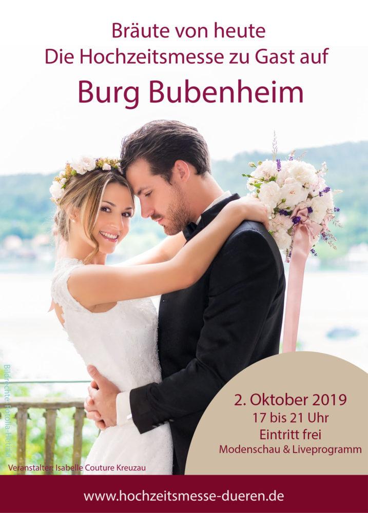Hochzeitsmesse Burg Bubenheim Isabelle Couture Kreuzau Mode De Pol