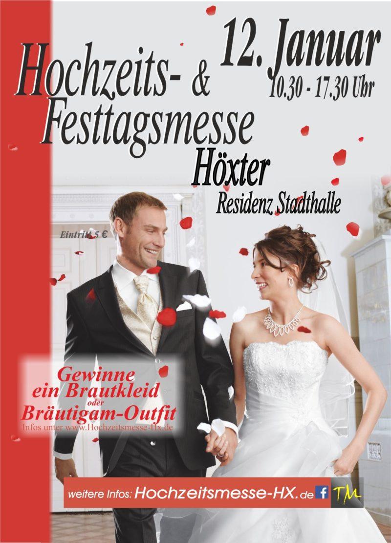 Hochzeitsmesse Höxter Residenz Stadthalle Heiraten Nordrhein Westfalen Brautkleid Detmold