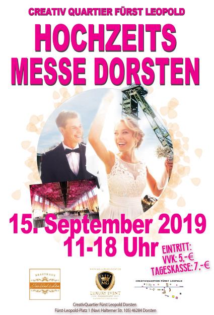 Hochzeitsmesse In Dorsten Zeche Fürst Leopold Brauthaus Tausendschön